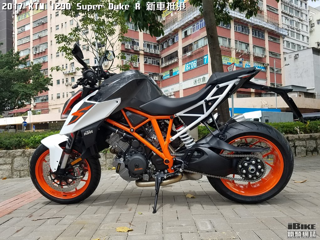 2017 ktm 1290 super duke r ibike. Black Bedroom Furniture Sets. Home Design Ideas